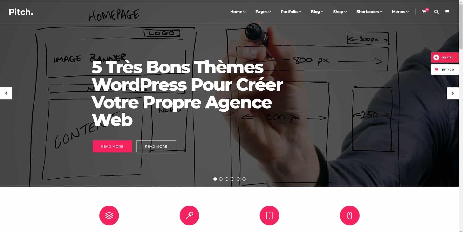 5 Très Bons Thèmes WordPress Pour Créer Votre Propre Agence Web - WP4Muslim
