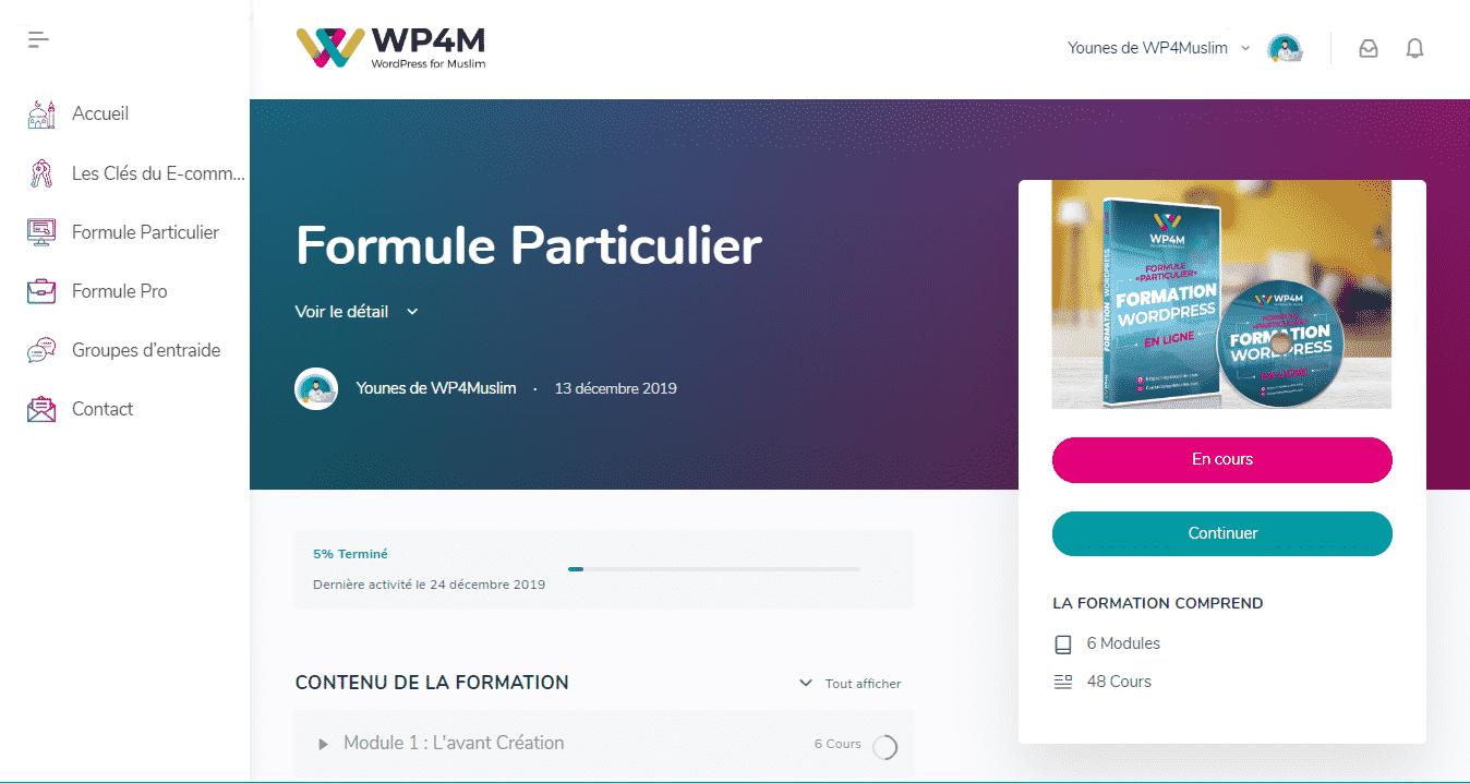 Formule Particulier
