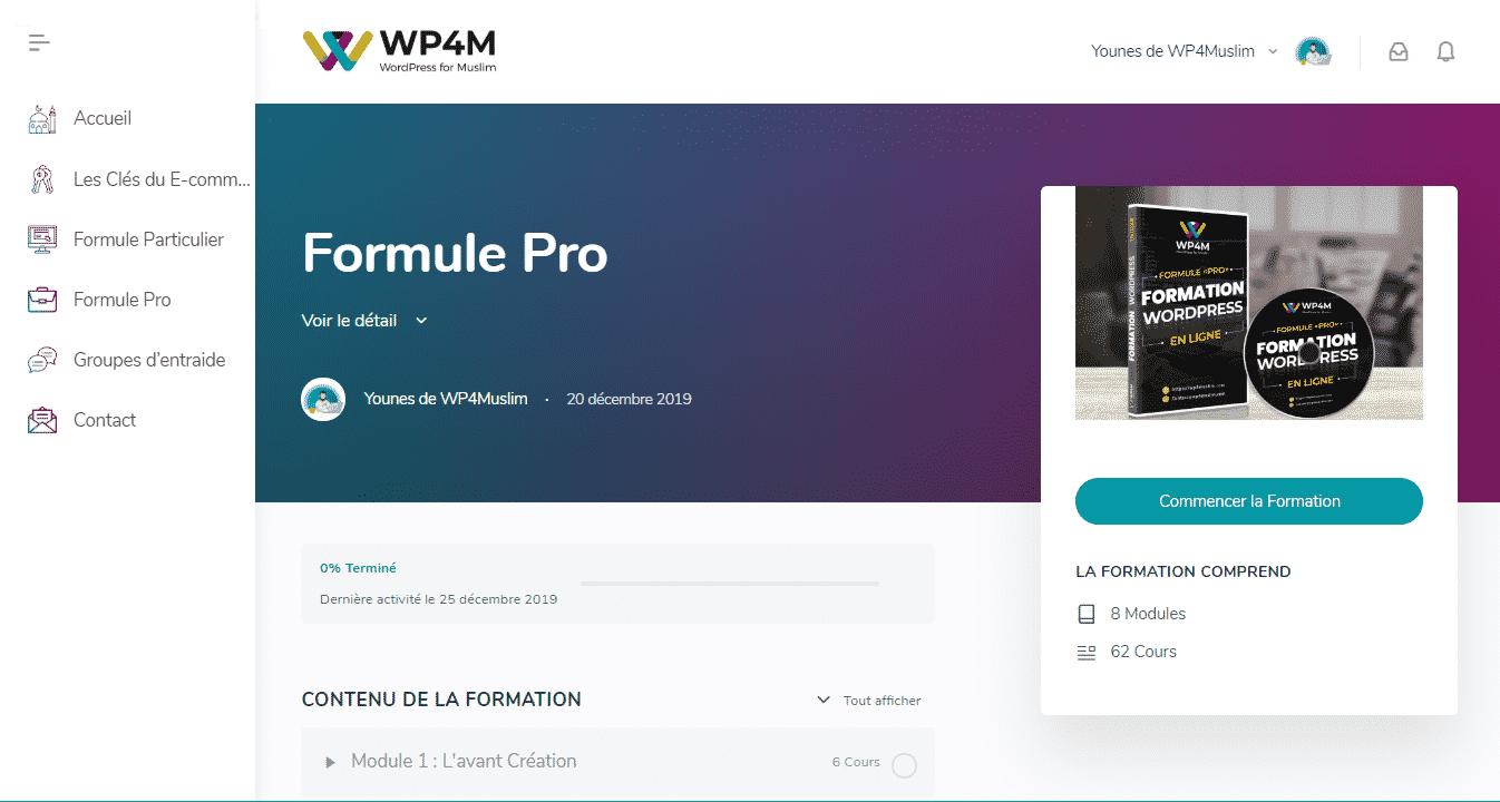 Formule Pro