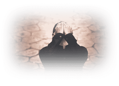 Homme musulman déçu