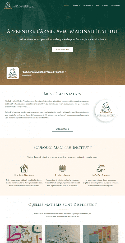 Screen Madinah Institut - WP4Muslim
